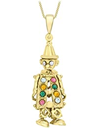 Carissima Gold - Collier Femme - Or Jaune 375/1000 9 carats 3 g - Oxyde de Zirconium