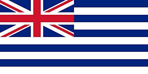 magFlags Bandiera Large Riproduzione della bandiera del protettorato britannico della Costa dei Miskito dal 1834 al 1860, opera propria 90x150cm - Cappotto Britannico Di Armi