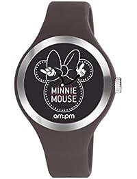 Disney Minnie Mouse reloj de la mujer por AM: PM dp155-u537 rojo correa