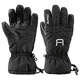 AKASO Ski Handschuhe Schwarz-M