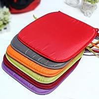 Pongee Colorful Cuscino quadrato Home Auto Chair sedile (Giorno Chair Pad)