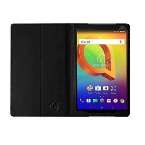 Alcatel A3 10 Wi-Fi+4G Tablet Case – PU -Book Stand Cover Case for Alcatel A3 10 Wi-Fi+4G (Black) by Fastway