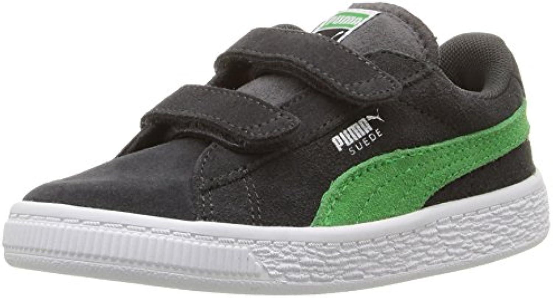 Puma Kids' Suede 2 Straps Sneaker