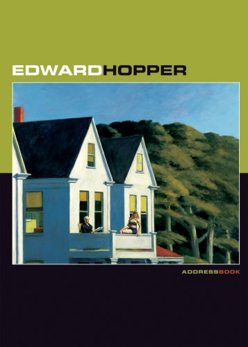 Edward Hopper Deluxe Address Book -