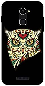 The Racoon Lean angry owl hard plastic printed back case / cover for Coolpad Note 3 Lite