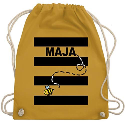Karneval & Fasching - Bienen Kostüm Maja - Unisize - Senfgelb - WM110 - Turnbeutel & Gym - Kostüme Fernsehen