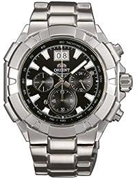 Orient – Reloj de pulsera Cronógrafo Cuarzo Acero inoxidable ftv00003b0
