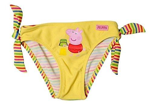 Kostüm Meer Peppa Pig Disney Slip Unterhose Mädchen gelb Größen 1-2-Jahre