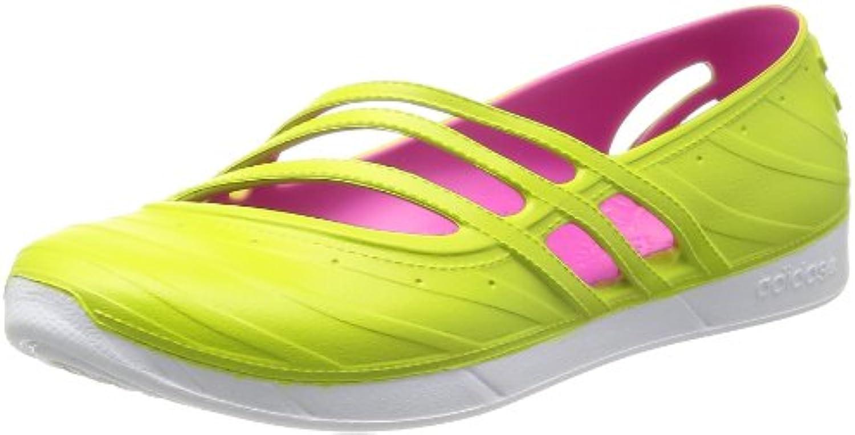 adidas QT Comfort Damen Neo Schuhe Sandalen Slippers Ballerinas Pantoletten