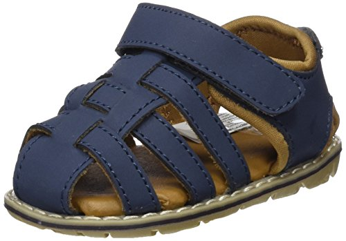 Zippy 19-4024 TC, Sandales bébé Garçon, Bleu (Dress Blue ZBBS04_430_6), 24 EU
