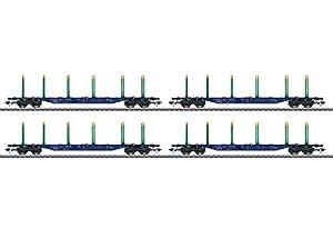 Märklin Trix 24247-Trix KLV Carga máxima de Carro de Juego, Green Cargo, EP. V
