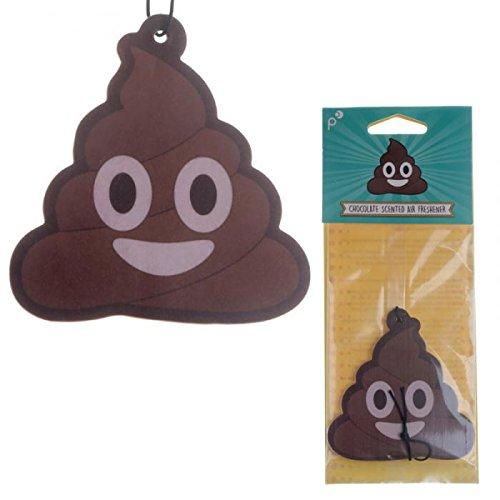 Deodorante per Auto Emoticon Emoji Poop Cacca Cioccolato