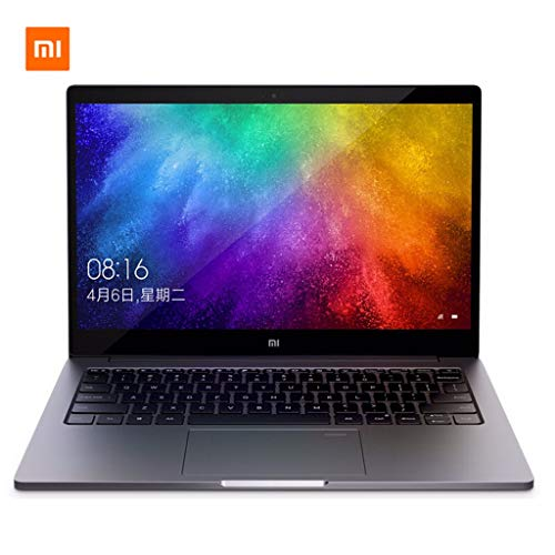 Sixcup®Laptop für Xiaomi Air Notebook,13,3 Zoll FHD IPS Bildschirm,Intel Core i5-8250U Quad Core,1,6 GHz-3,4 GHz,2GB 8GB DDR4 256GB,Fingerprint Recognition,Windows 10 (Grau)