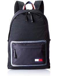Tommy Hilfiger Utility Backpack, Sacs à dos homme, Noir (Black), 18x49x35 cm (B x H T)