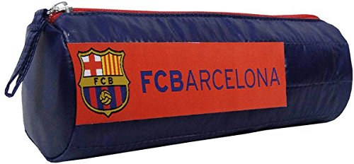 Futbol Club Barcelona- Portatodo cilindrico Soft,, 21 cm (CYP Imports PT-815-BC)