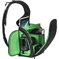 Candoran custodia resistente impermeabile per fotocamera professionale digitale SLR-Borsa a tracolla Casual Messenger-Borsa a tracolla da viaggio, per fotografia