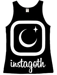 The Dead Generation Instagoth Occult Ladies Vest Top - Gothic Clothing by Luna Cult