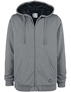 R.E.D. by EMP Is It Over Yet Sudadera capucha con cremallera gris/negro
