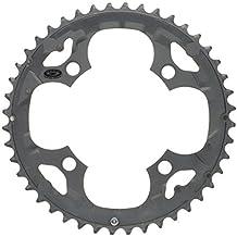 """'Shimano cadena Hojas """"Deore M590FC de 4de brazo, 104/64mm Agujero circular, 44Z. Negro"""