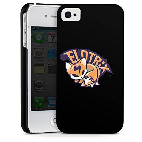 Apple iPhone X Silikon Hülle Case Schutzhülle Elotrix Merchandise Fanartikel Youtuber Premium Case glänzend
