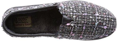 Bobs by Skechers Bliss-Flirt Rund Textile Slipper Gray