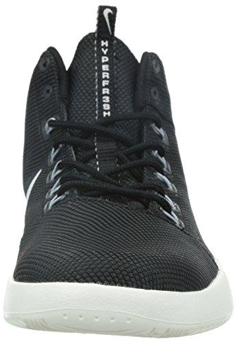 Nike Herren Hyperfr3sh Basketballschuhe, Schwarz, Talla Schwarz / Grau / Weiß (Black/Sail-Anthracite-Wlf Grey)