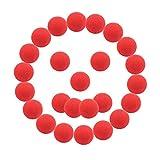 SWNKDG Naso Rosso Naso Pagliaccio 25 pacchi Nasone Rosso , Compleanno, Circo, Festa da Ballo, Renna Rudolph Naso eaccessorio Halloween