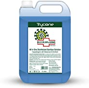 Trycone All in One Instant Disinfectant Sanitizer Solution (Kills 99.99% Germs) with 70% Alcohol, Hypoallergen