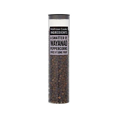 Les Ingrédients De Cuisiniers Poivres Wayanad Waitrose 80G - Paquet de 6