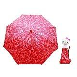 Sanrio Hello Kitty Kids Umbrella with 3D...