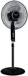 Morphy Richards Vento 55-Watt Pedestal Fan (Black)