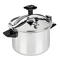 Tefal Stainless Steel Authentique Pressure Cooker 8 Liter, Silver P0531134