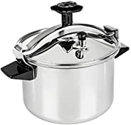 Tefal K3100112 Authentique Pressure Cooker, Silver, W 29.6 x H 29.4 x D 25.8 cm, 8 Liter, Stainless Steel