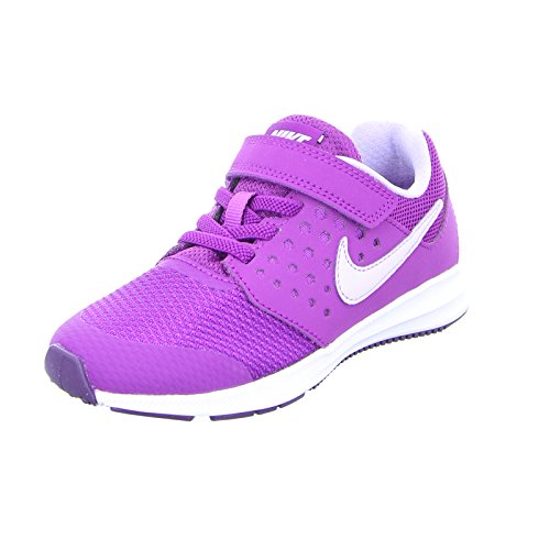Nike - nike downshifter 7 psv scarpe sportive bambina tela viola - viola, 34