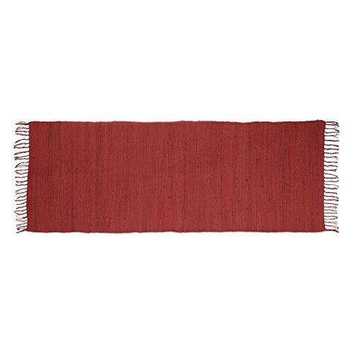 relaxdays-tappeto-stuoino-decorativo-per-la-casa-rifinito-a-mano-con-frange-cotone-rosso-80-x-200-cm