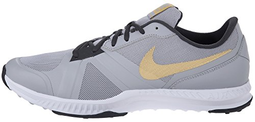 Nike Air Epic Speed Tr, Chaussures de Sport Homme, Taille Gris / Doré / Gris (Wlf Gry / Mtllc Gld-Anthrct-Cl G)