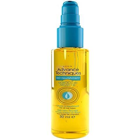 Tecniche Avon Advance 360 Nutrimento marocchino olio di Argan Lasciare in trattamento 30 ml