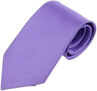 SKY Corbata tejida jacquard clásica del lazo rayado del color sólido de los nuevos hombres