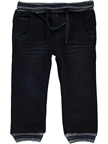 Name it Baggy Thermojeanshose mit Softbund Andy Mini, Größe:80, Farbe:dark denim