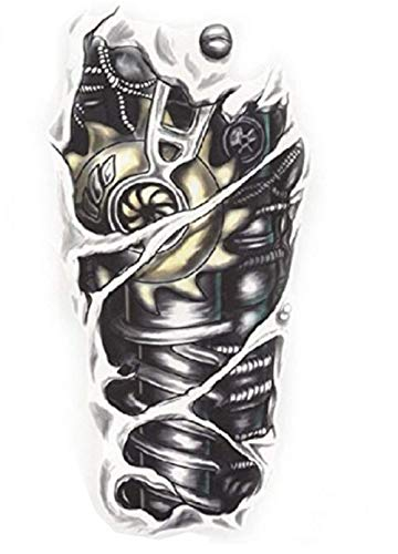 Inception pro infinite yf - h006/hb - 088 flash tattoo in bianco e nero adesivo temporanei corpo stickers gotik gotico orientale esotico tattoo adesivo foglio black and white oriente per - donna