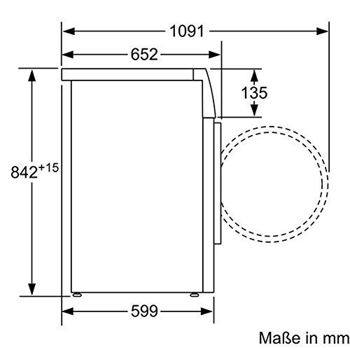 Siemens WT47W5W0 iQ700 Wärmepumpentrockner / A+++ / 8 kg / Großes Display mit Endezeitvorwahl / weiß