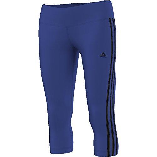 Adidas Bsc 3S Tigh Collant 3/4, Multicolore (Acetec/Nero), S