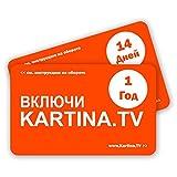 Kartina TV Premium Paket - Russisches Fernsehen 1 Jahr ABO - russische IPTV (ohne Vertragsbindung) - Картина ТВ - Русское Телевидение - Абонемент на 1 год (без договора)