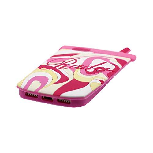 ad581a81150 ... iPhone 7 Plus Copertura,iPhone 7 Plus Custodia,3D Cartoon Maniglia di  gioco Pelle