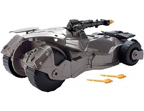 Justice League Batmóvil con lanzamisiles (Mattel Spain FGG58)