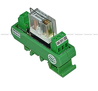 Shavison Relay Module AS361-24V-S-OE, 1C/O, 1 Channel, 24VDC Coil, OEN Relay, Reverse Blocking Diode, Socket Mounted Relay, Contact Rating : 28VDC/230VAC, 5A