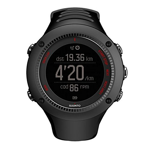 SUUNTO Ambit3 Run Black Reloj de Carrera GPS