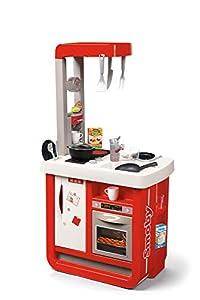 Smoby 310819 - Cocina y Sus Accesorios, Color Rojo
