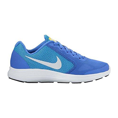 Nike NIKE REVOLUTION 3 (GS) NAVY - - Damen Nike Laufschuhe Lila
