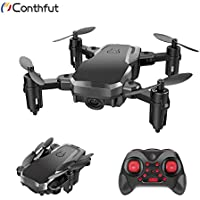 Price comparsion for Conthfut Mini Quadcopter Drone, C16 RC Nano Quadcopter for Kids and Beginners - 2.4G 6-Axis with Altitude Hold Function, Headless Mode, 3D Flip and Speed Adjustment, Black